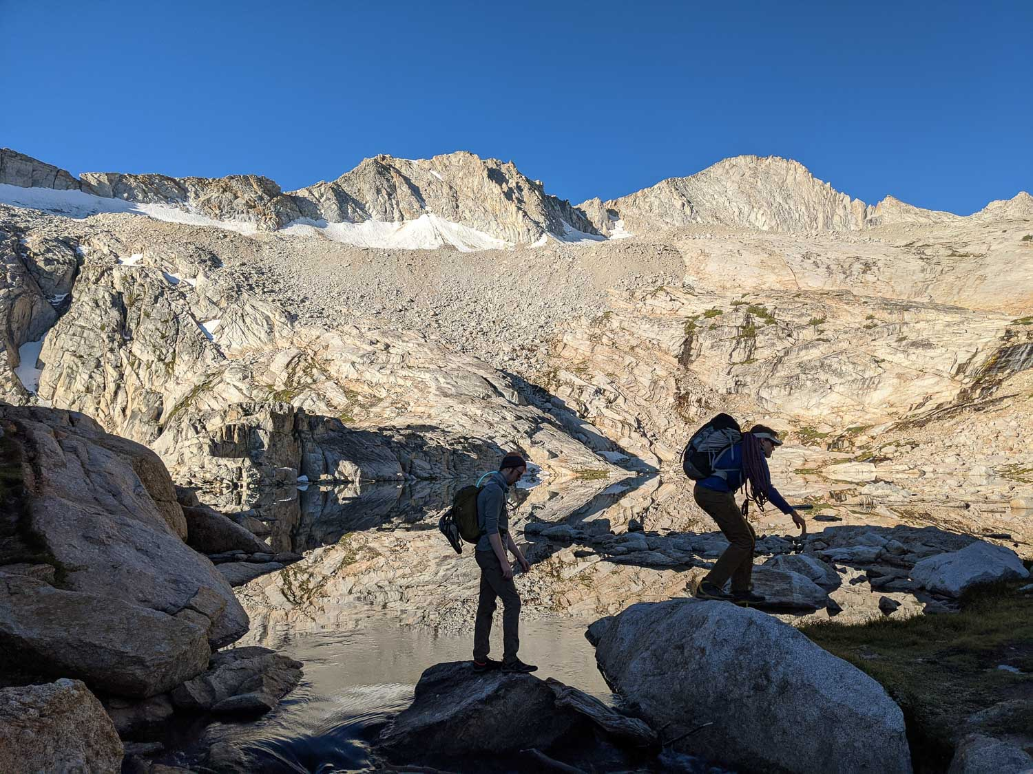 Approaching Mount Conness