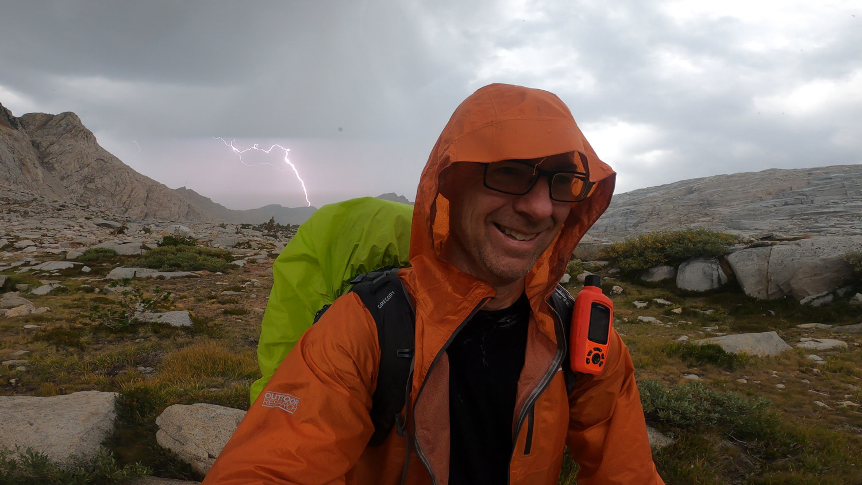 Thunder storm in Nine Lakes Basin