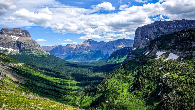 Glacier National Park, Pigan Pass
