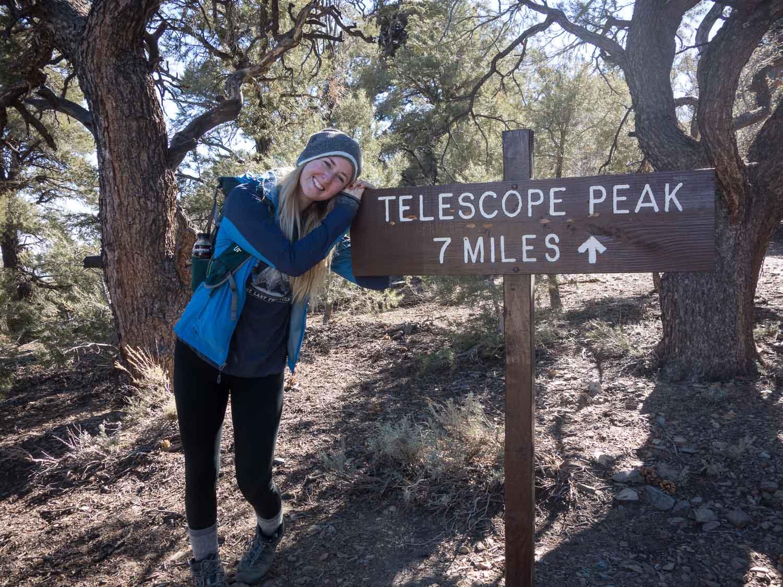 Telescope Peak Trailhead