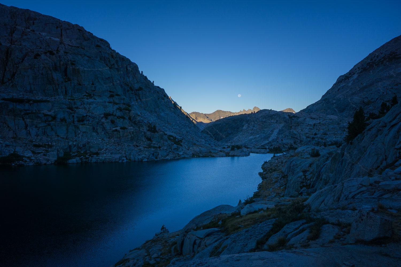 Lower Palisade Lake
