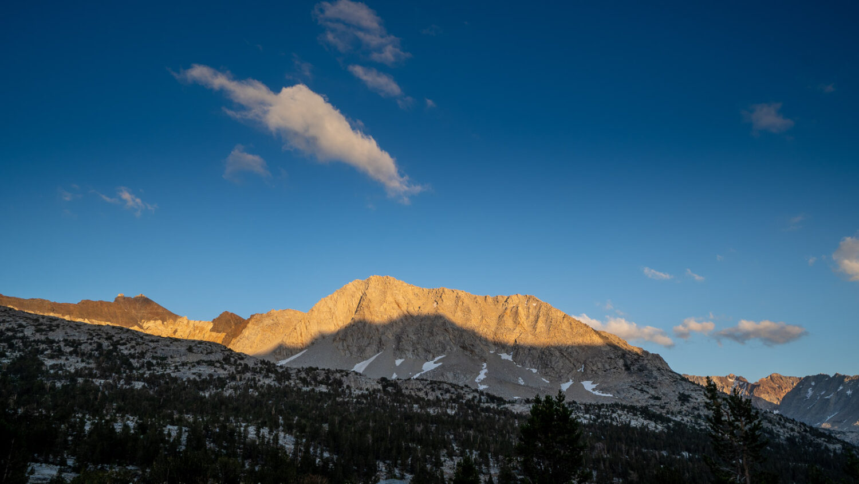 Upper Basin, John Muir Trail